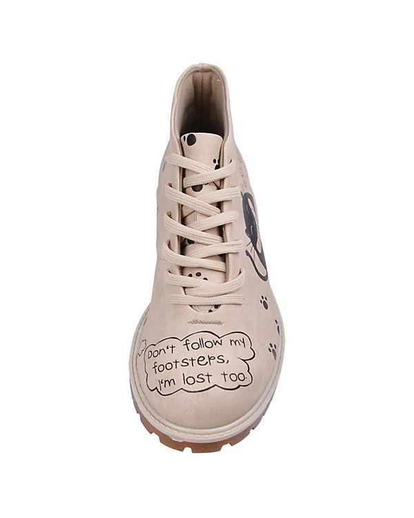 Dogo Shoes Schnürstiefeletten Follow my steps mehrfarbig