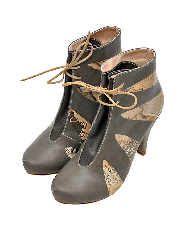 Dogo Shoes Ankle Boots grey suits mehrfarbig