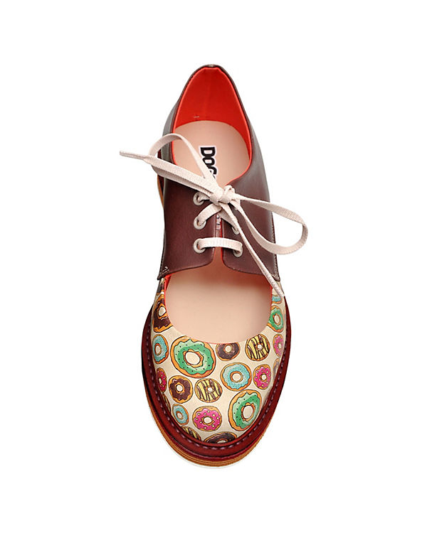 Dogo Shoes, Schnürschuhe  party, donuts party,  mehrfarbig c8a7c7