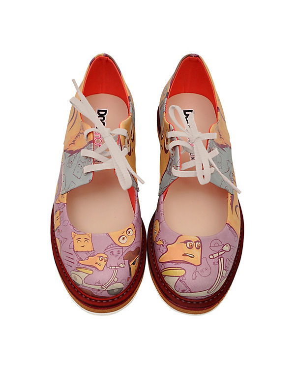 Shoes Dogo ghosts Schnürschuhe Shoes mehrfarbig Dogo ghosts Schnürschuhe mehrfarbig aqB5UwxRR