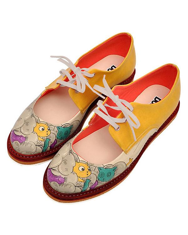Schnürschuhe Dogo mehrfarbig rope Shoes cat qff5rwHxX