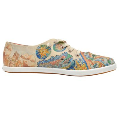 ... Dogo Shoes Sneakers Low barcelona blues mehrfarbig ...