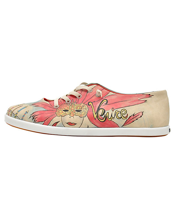 Dogo Shoes Sneakers Low venice mehrfarbig