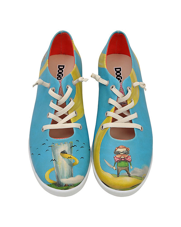 Dogo Shoes Sneakers Low blonde rapunzel mehrfarbig