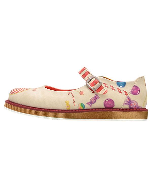 Dogo Shoes Offene Halbschuhe Candy Land mehrfarbig