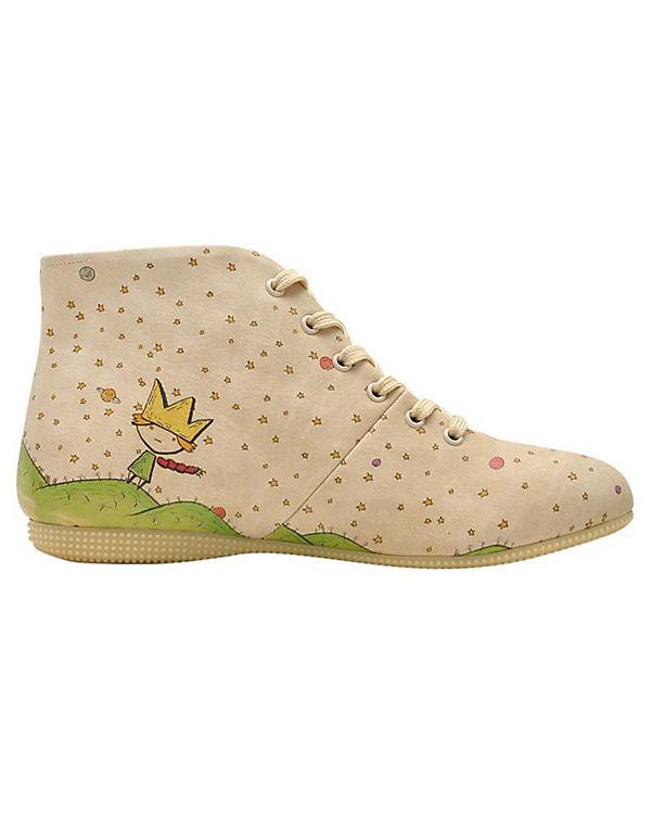 Dogo Shoes, Schnürstiefel Schnürstiefel Shoes, Secret Planet, mehrfarbig 426684