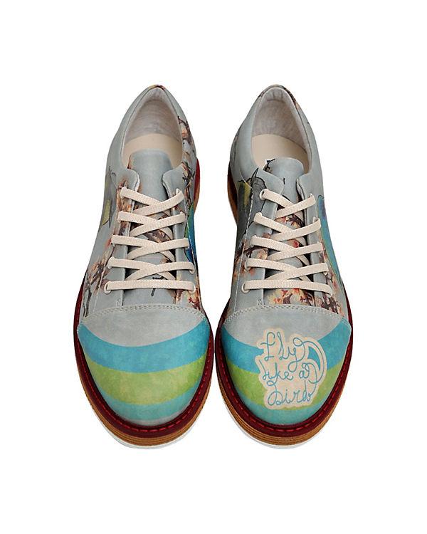 Dogo Shoes, Schnürschuhe Broke's Be mehrfarbig Free, mehrfarbig Be 65f65c