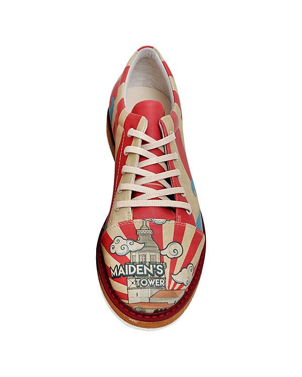 Dogo Shoes Schnürschuhe Broke's Maiden's Tower mehrfarbig