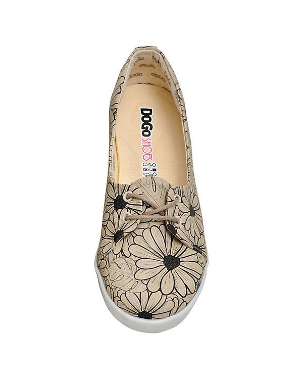 Dogo Shoes Sportliche Ballerinas Flowers mehrfarbig