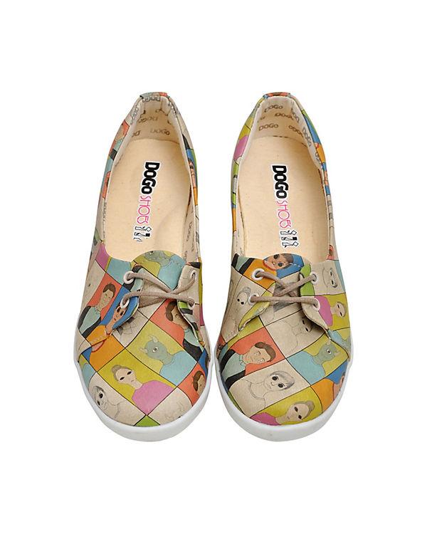 Dogo Shoes, Sportliche Sportliche Sportliche Ballerinas Portraits, mehrfarbig 7897a4