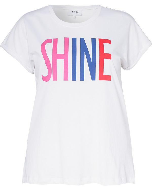Zizzi Shirt T Zizzi T weiß Shirt T Zizzi Zizzi weiß Shirt weiß T BvYYw