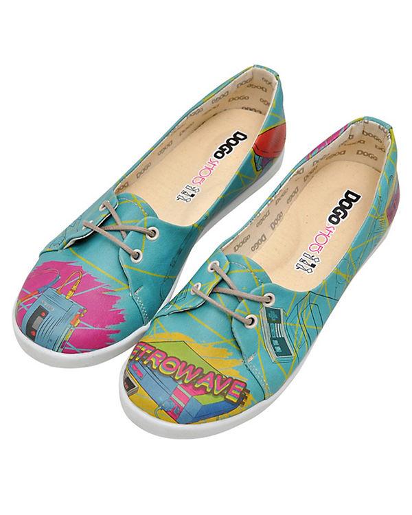 Dogo Shoes Sportliche Ballerinas Retrowave mehrfarbig