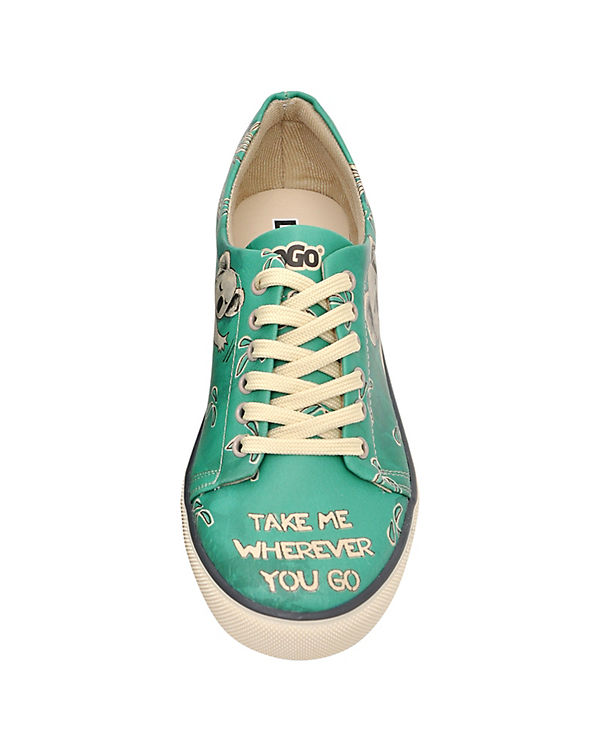 Dogo Shoes Sneakers Low Koala Hug mehrfarbig
