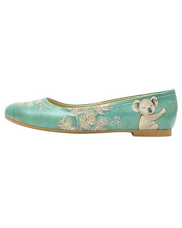 Dogo Shoes Klassische Ballerinas Koala hug mehrfarbig