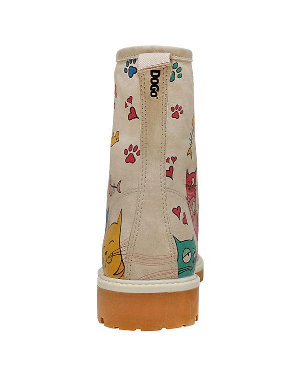 Dogo Lovers mehrfarbig Cat Stiefel Klassische Shoes 7rwP1q7f
