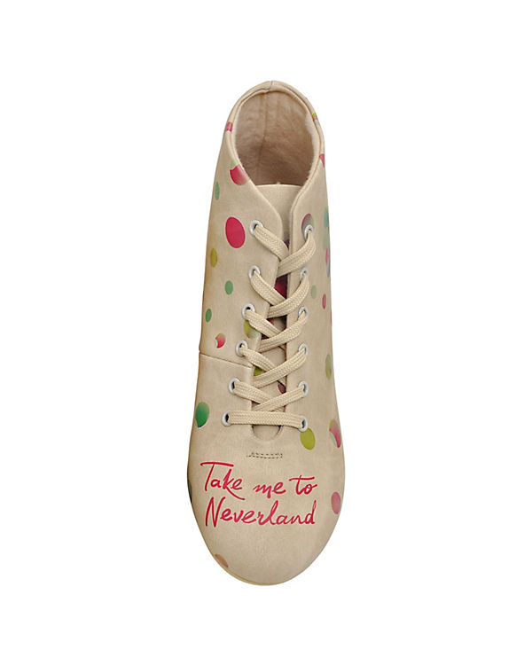 Dogo Shoes Sneakers High Take Me To Neverland mehrfarbig