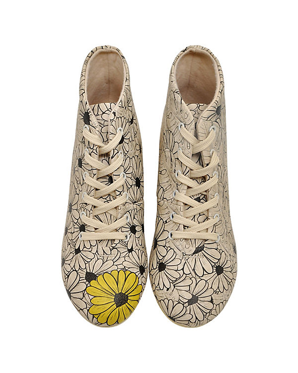 Dogo Sneakers mehrfarbig High Shoes Flowers WRzn6RXx