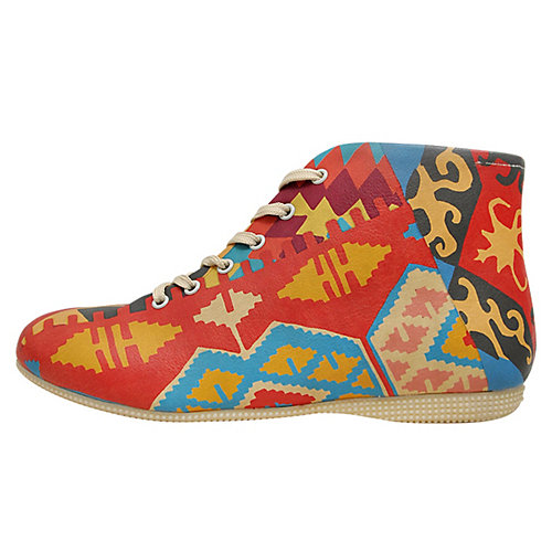 Dogo Shoes Sneakers High Old Rugs mehrfarbig Da...