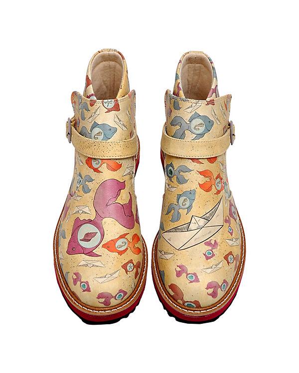 Dogo Shoes Schlupfstiefeletten Kim The Hidden World mehrfarbig