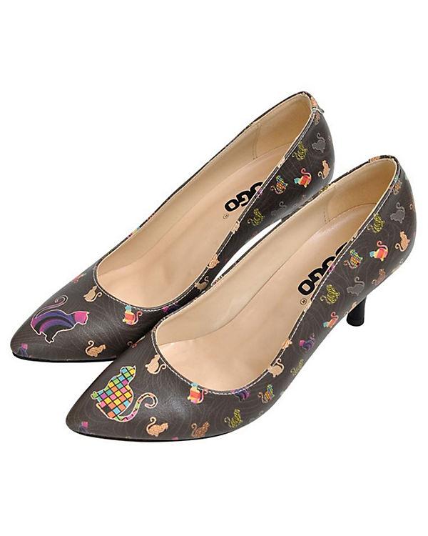 Klassische Shoes mehrfarbig Dogo Kittens Pumps 5FwzxBq