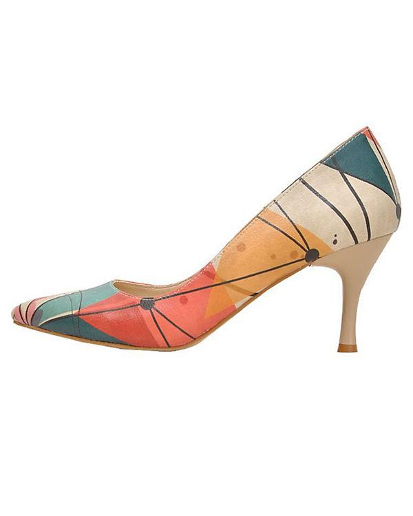 Dogo Shoes Klassische Pumps Shapes mehrfarbig