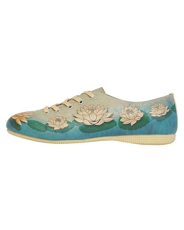 Dogo Shoes, Schnürschuhe Lotus, Lotus, Lotus, mehrfarbig 8c14e7