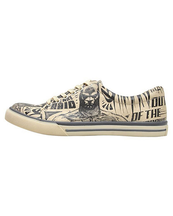 Dogo Sneakers Shoes, Sneakers Dogo Low Batman Sketch, mehrfarbig fe9fff