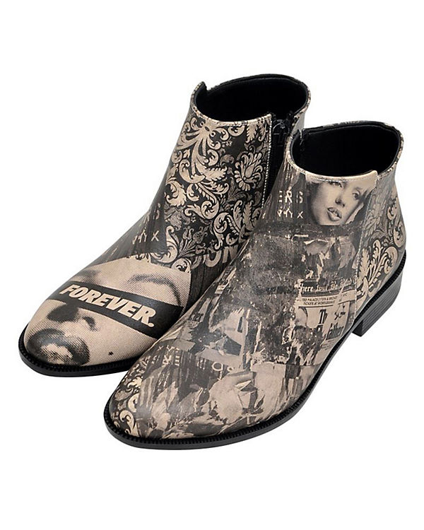 Dogo Shoes Schlupfstiefeletten Forever mehrfarbig