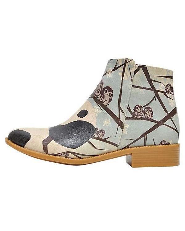 Dogo Shoes Schlupfstiefeletten I like winter mehrfarbig
