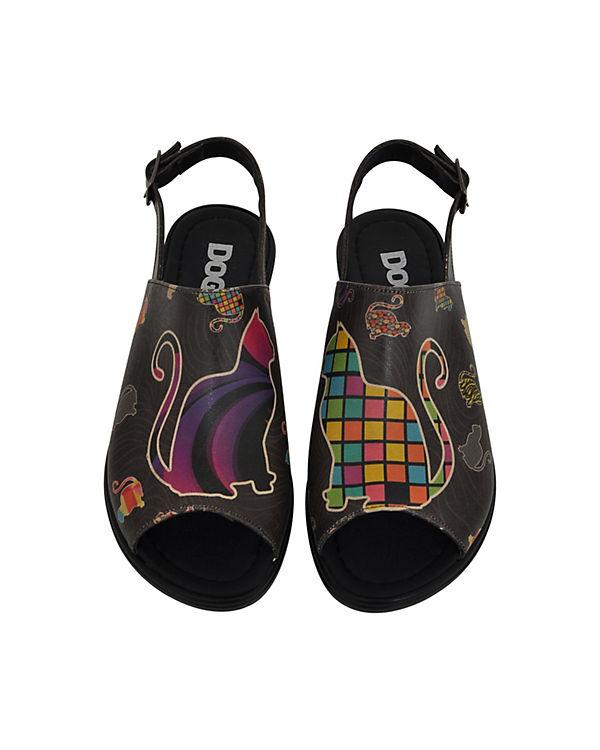 Dogo Shoes Komfort-Sandalen Kittens mehrfarbig
