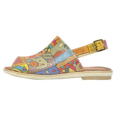 Dogo Sandalias Shoes Artsy Multicolor Xwzifpu Comfort n80OPXNwk