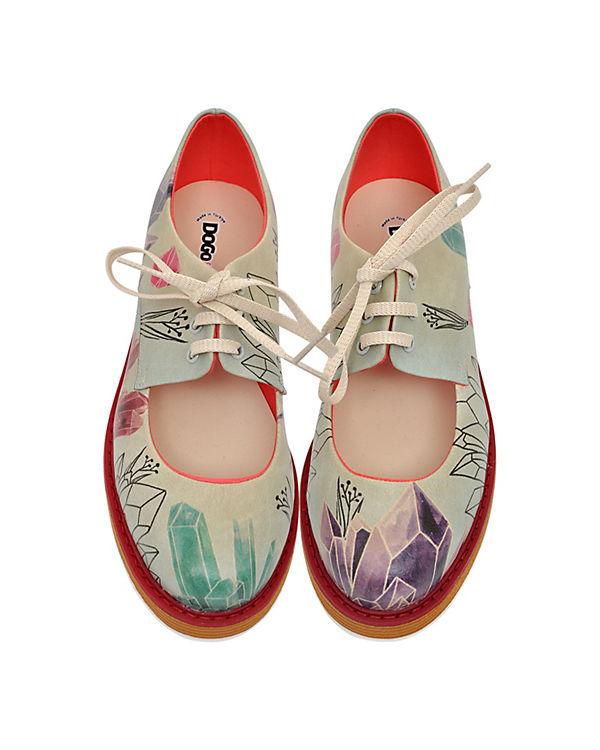Dogo mehrfarbig Shoes, Schnürschuhe Mineral Art, mehrfarbig Dogo 8a04a5