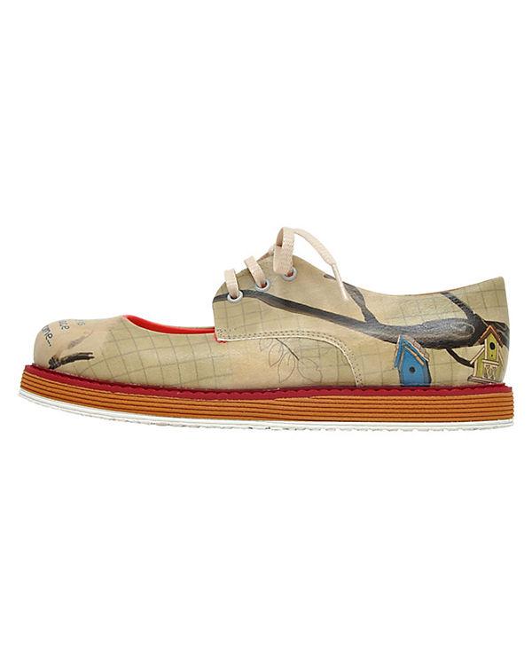 Dogo Shoes Schnürschuhe Like Home mehrfarbig