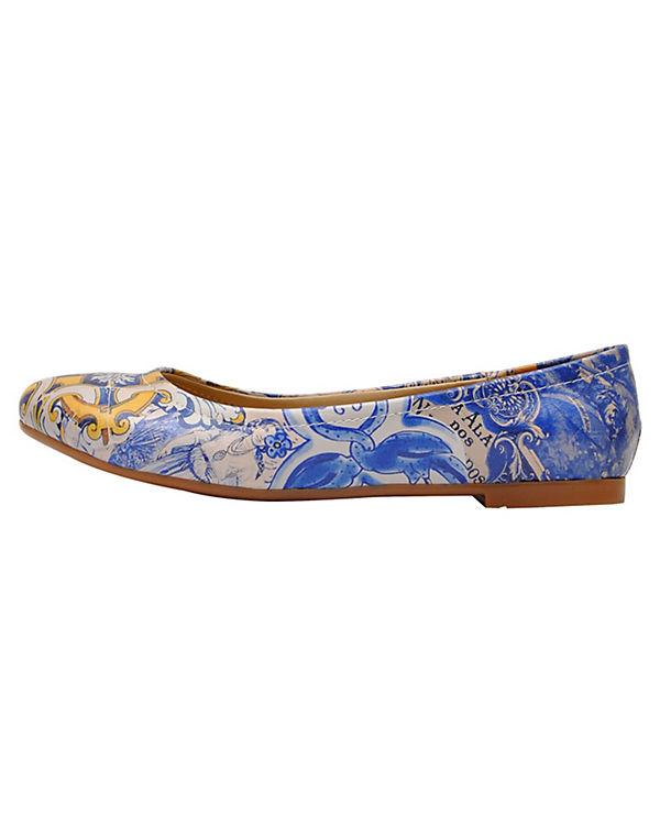 Dogo Shoes Klassische Ballerinas Side of Portugal mehrfarbig