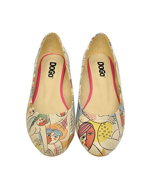 Dogo Klassische Ballerinas Cubic mehrfarbig Life Shoes zBrqw5xEz