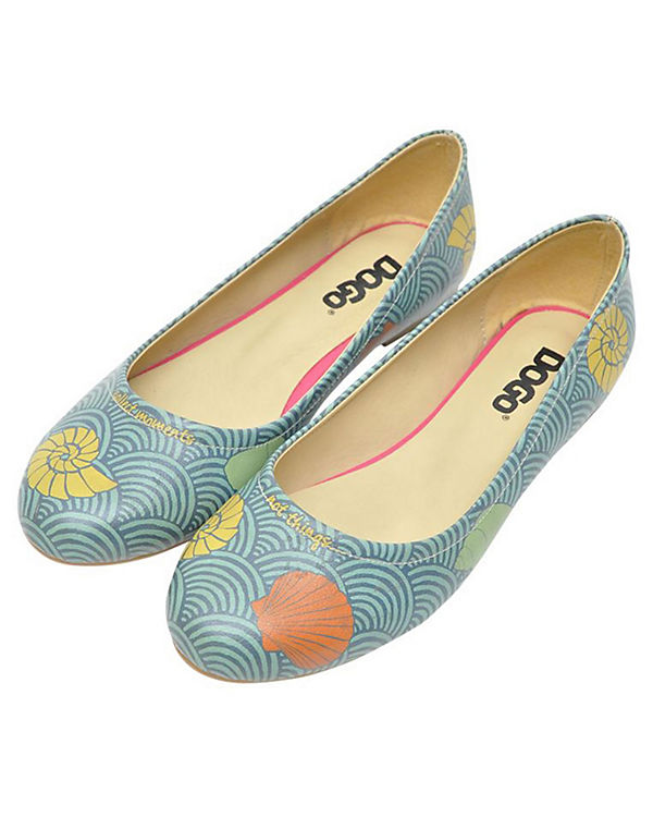 Salty Ballerinas Dogo Klassische mehrfarbig Shoes xOpYpfnC