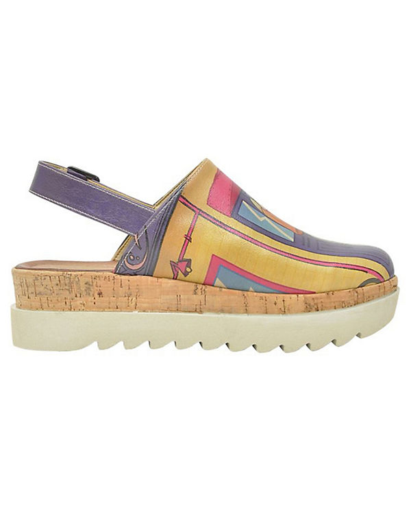 Dogo mehrfarbig Komfort Street Shoes Sandalen PrPw68aq