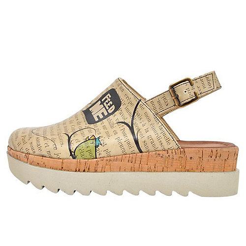 Dogo Shoes Komfort-Sandalen Ugly bird mehrfarbi...
