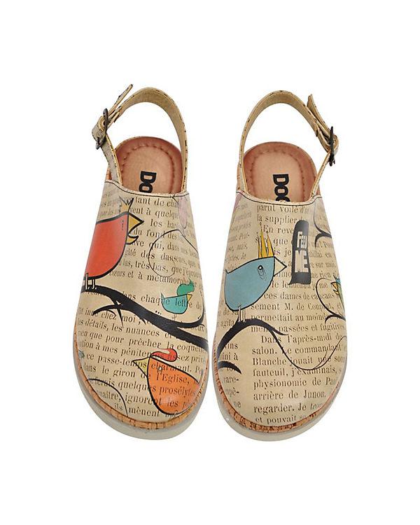 Dogo Sandalen Shoes Ugly Komfort bird mehrfarbig qxvgz0