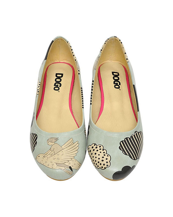 Dogo Shoes, Shoes, Shoes, Klassische Ballerinas Above The Clouds, mehrfarbig 54e61f