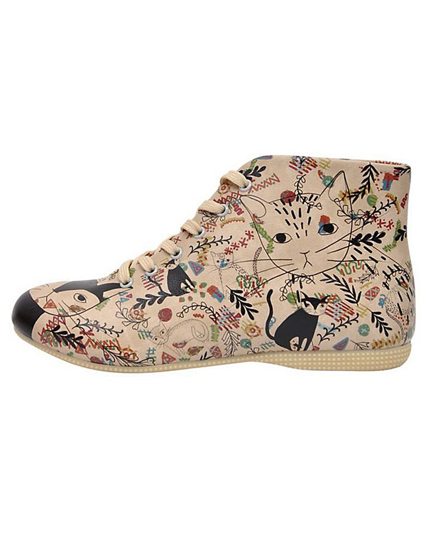 Dogo Shoes Schnürstiefeletten Ethnicat mehrfarbig