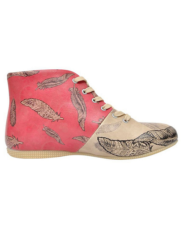 Dogo Shoes mehrfarbig Feather Shoes Schnürstiefeletten Dogo U0x1qd0