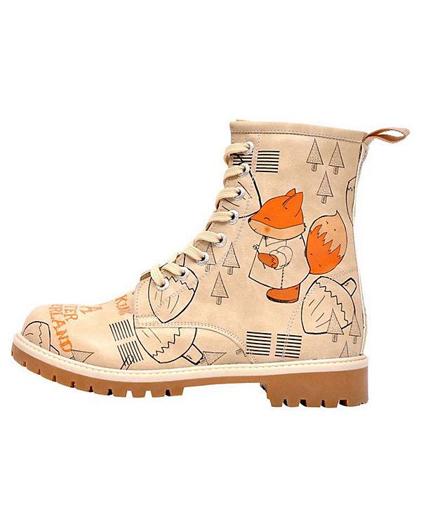 Dogo Shoes Klassische Stiefel Walking In a Winter Wonderland mehrfarbig