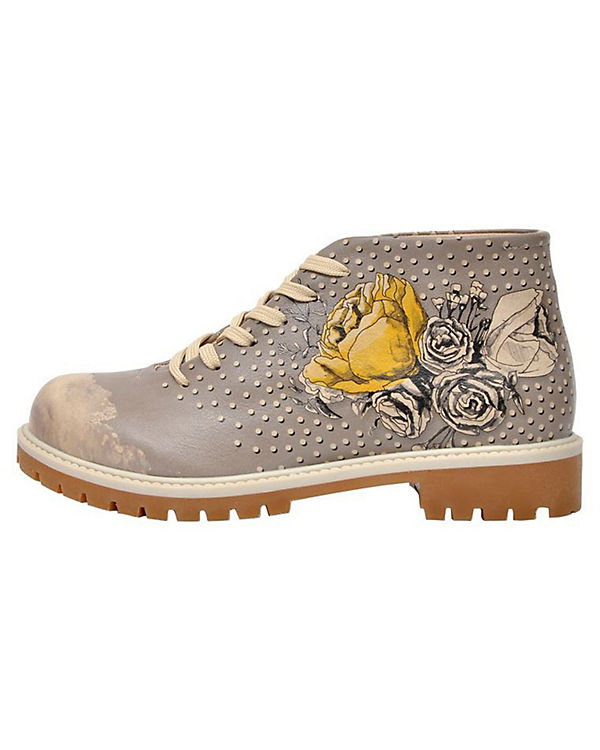 Dogo Shoes Schnürstiefeletten Look Gorgeous mehrfarbig