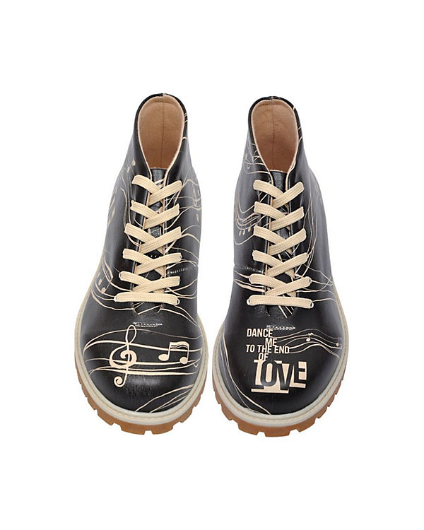 Dogo Shoes, Schnürstiefeletten Dance With mehrfarbig Me End of Love, mehrfarbig With b79004