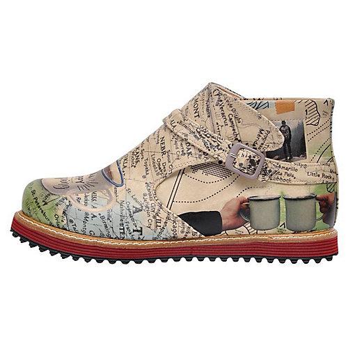 Dogo Shoes Komfort-Stiefeletten Happy Camping m...