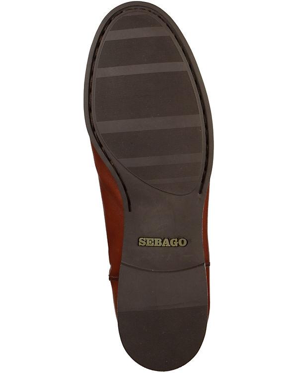 SEBAGO Klassische Stiefel cognac