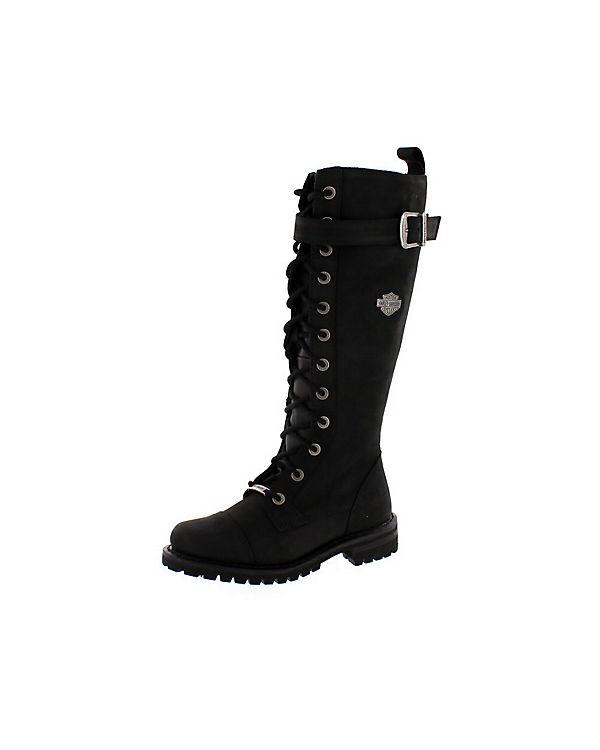 Harley schwarz Davidson, Biker Boots SAVANNAH, schwarz Harley c8847a
