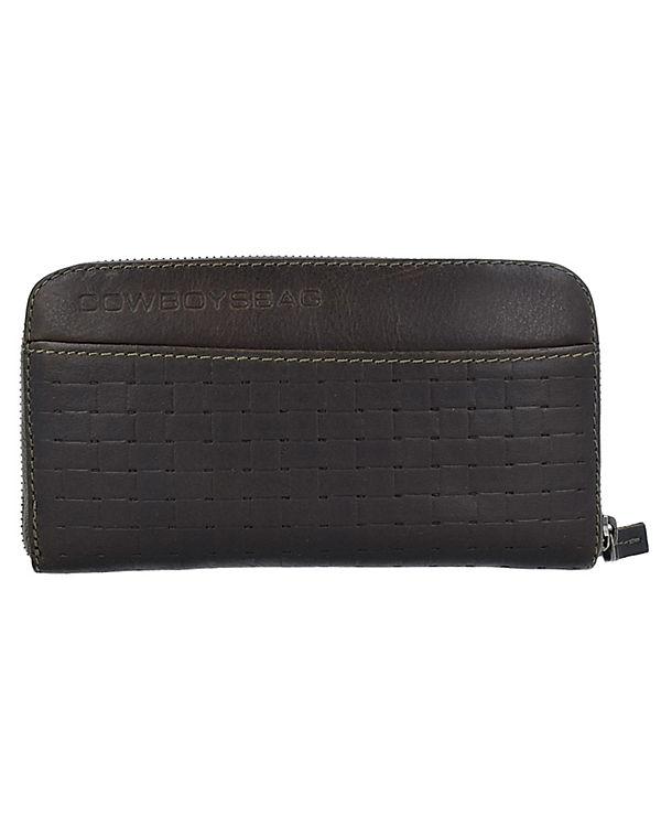 COWBOYSBAG Longburn Portemonnaies grau/grün