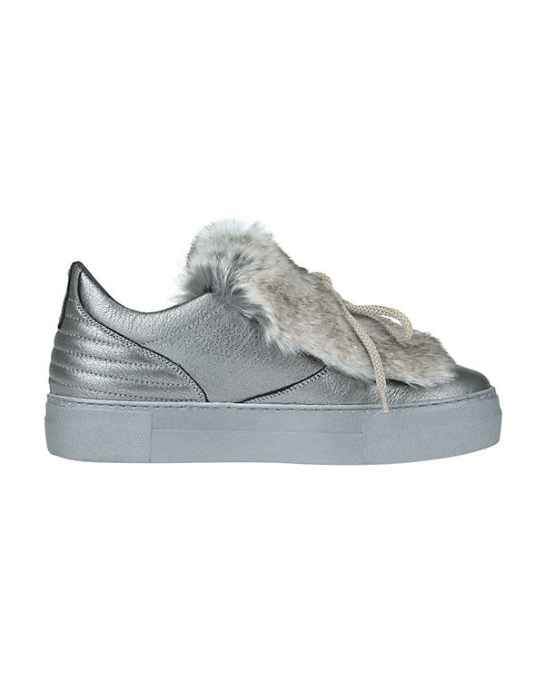 Donna Carolina Sneakers Low POMPEI silber